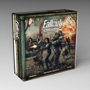 Modiphius Fallout: Wasteland Warfare  Fallout: Wasteland Warfare Fallout: Wasteland Warfare Two Player Starter Set - MUH051235 - 5060523340248