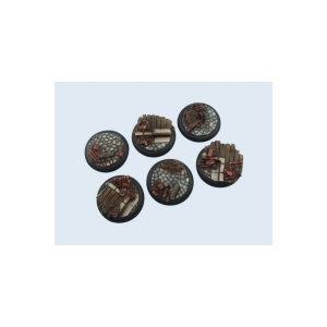 Micro Art Studio   Triad Bases Triad Bases, 40mm WRound (2) - B04742 - 5900232351534