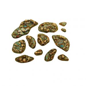 Micro Art Studio   Basing Kits Halodyne - Basing Kit (12) - B04501 - 5907652561086