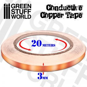 Green Stuff World   Lighting & LEDs Conductive Copper Tape - 8436574505245ES - 8436574505245