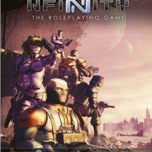 Modiphius Infinity RPG  Infinity RPG Infinity RPG Player's Guide - MUH050207 - 9781912200443
