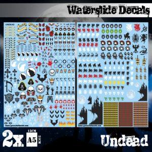 Green Stuff World   Decals Waterslide Decals - Undead - 8436574504743ES - 8436574504743