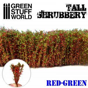 Green Stuff World   Plants & Flowers Tall Shrubbery - Red Green - 8436574504286ES - 8436574504286