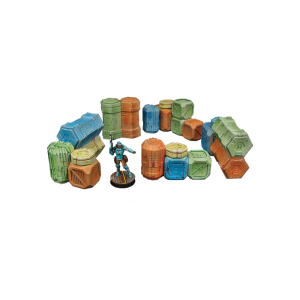 Micro Art Studio   Micro Art Studios Terrain Infinity Cargo Crates (5) - T00086 -