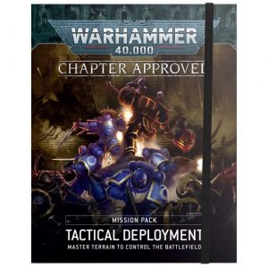 Games Workshop Warhammer 40,000  Warhammer 40000 Essentials Chapter Approved Mission Pack: Tactical Deployment - 60040199126 - 9781839061684