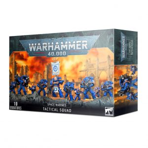 Games Workshop Warhammer 40,000  Space Marines Space Marine Tactical Squad - 99120101316 - 5011921142453