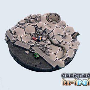 Micro Art Studio   Urban Fight Bases Urban Fight Bases, Round 60mm #2 (1) - B03423a -