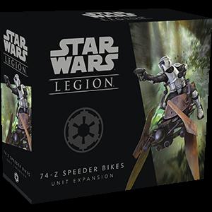 Fantasy Flight Games Star Wars: Legion  The Galactic Empire - Legion Star Wars Legion: 74-Z Speeder Bikes - FFGSWL06 - 841333104481