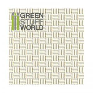 Green Stuff World   Plasticard ABS Plasticard - OFFSET LINES - 8436554363216ES - 8436554363216