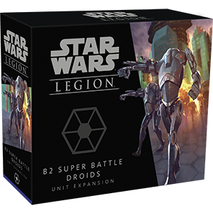 Fantasy Flight Games Star Wars: Legion  Separatist Alliance - Legion Star Wars Legion: B2 Super Battle Droids - FFGSWL62 - 841333110048