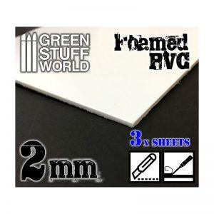 Green Stuff World   Foamboard Foamed PVC 2 mm - 8436554368051ES - 8436554368051