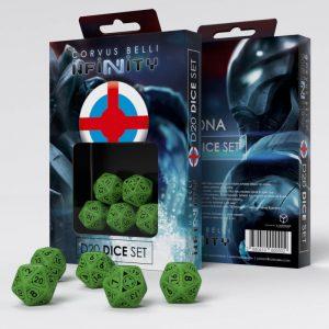 Q-Workshop Infinity | Infinity RPG  Ariadna Ariadna D20 Dice Set - 285041 - 2850410000002