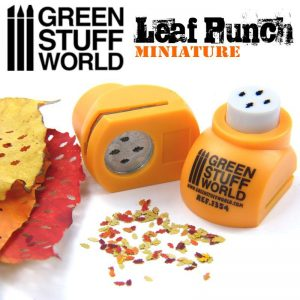 Green Stuff World   Stamps & Punches Miniature Leaf Punch ORANGE - 8436554363544ES - 8436554363544