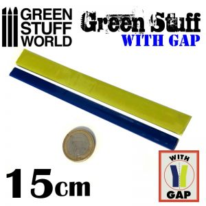Green Stuff World   Modelling Putty & Green Stuff Green Stuff Tape 6 inches (with gap) - 8436574503630 - 8436574503630