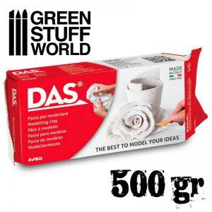 Green Stuff World   Mold Making Modelling clay DAS - 500gr. - 8000144074112ES - 8000144074112
