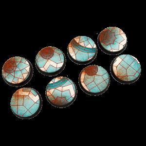 Micro Art Studio   Mosaic Bases Mosaic Bases, Round 32mm (4) - B01120 - 5900232353606