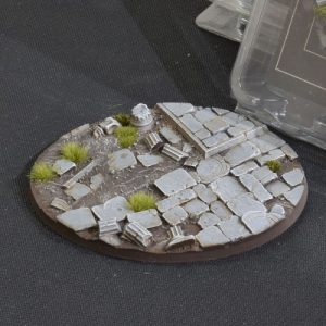 Gamers Grass   Battle-ready Temple Bases Temple Bases Oval 120mm (x1) - GGB-TO120 -