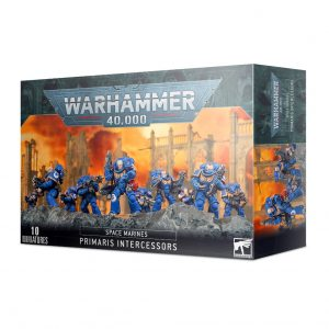 Games Workshop Warhammer 40,000  Space Marines Space Marines Primaris Intercessors - 99120101309 - 5011921142361