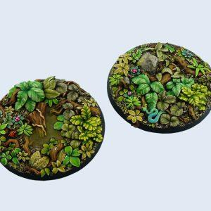 Micro Art Studio   Jungle Bases Jungle Bases, Round 60mm (1) - B02123 - 5900232350889