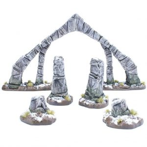 Modiphius (Direct) The Elder Scrolls: Call to Arms  The Elder Scrolls: Call To Arms The Elder Scrolls: Call  to Arms Bleak Falls Barrow Terrain Set - MUH052051 - 5060523343348