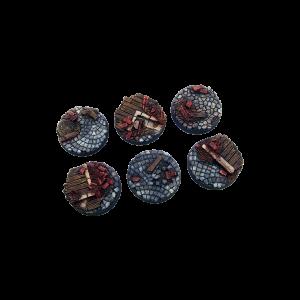 Micro Art Studio   Triad Bases Triad Bases, Round 25mm (5) - B04721 - 5900232352395