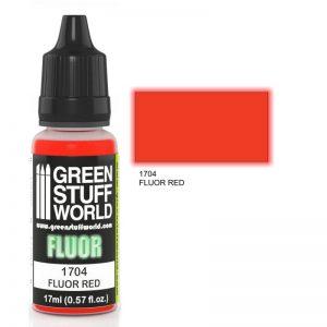 Green Stuff World   Fluorescent Paints Fluor Paint RED - 8436574500639ES - 8436574500639