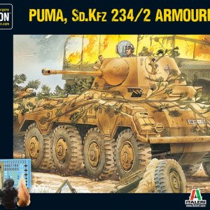 Warlord Games Bolt Action  Germany (BA) Puma Sd.Kfz 234/2 Armoured Car (plastic) - 402012009 - 5060572501348