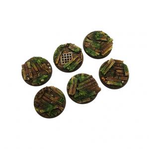Micro Art Studio   Wood Bases Wood Bases, Round 40mm (2) - B00622 - 5907652561291