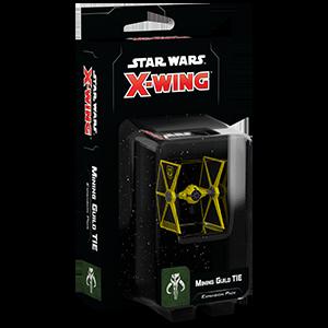 Fantasy Flight Games Star Wars: X-Wing  Scum & Villainy - X-wing Star Wars X-Wing: Mining Guild TIE Fighter - FFGSWZ23 - 841333106768