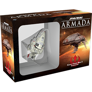 Fantasy Flight Games Star Wars: Armada  The Rebel Alliance - Armada Star Wars Armada Assault Frigate Mk2 - FFGSWM05 - 9781616619978