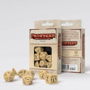 Q-Workshop   Pathfinder Pathfinder Playtest Dice set (7) - SPAT96 - 5907699493821