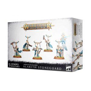 Games Workshop Age of Sigmar  Lumineth Realm-lords Lumineth Realm-lords Alarith Stoneguard - 99120210036 - 5011921137015