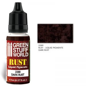 Green Stuff World   Liquid Pigments Liquid Pigments DARK RUST - 8436574506488ES - 8436574506488