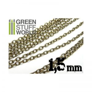 Green Stuff World   Modelling Chain Hobby chain 1.5 mm - 8436554360406ES - 8436554360406