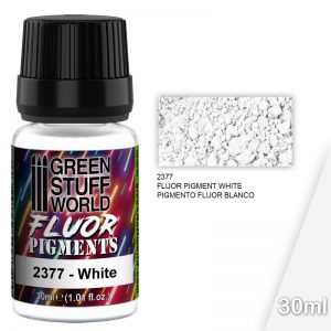 Green Stuff World   Fluorescent Pigments Pigment FLUOR WHITE - 8436574507362ES - 8436574507362