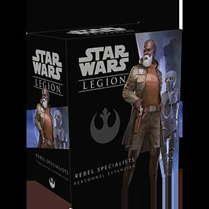 Fantasy Flight Games Star Wars: Legion  The Rebel Alliance - Legion Star Wars Legion: Rebel Specialists Personnel - FFGSWL26 - 841333106454