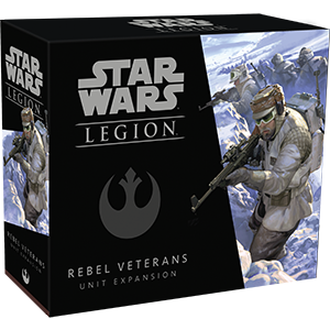 Fantasy Flight Games Star Wars: Legion  The Rebel Alliance - Legion Star Wars Legion: Rebel Veterans - FFGSWL39 - 841333107765
