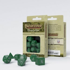 Q-Workshop   RPG / Polyhedral Pathfinder Kingmaker Dice Set (7) - SPAT34 - 9781601253460