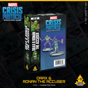 Atomic Mass Marvel Crisis Protocol  Marvel: Crisis Protocol Marvel Crisis Protocol: Drax and Ronan the Accuser - CP20 - 841333108892