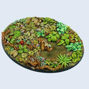 Micro Art Studio   Jungle Bases Jungle Bases, Oval 120mm (1) - B02126 - 5900232359455