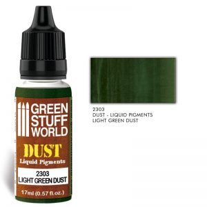 Green Stuff World   Liquid Pigments Liquid Pigments LIGHT GREEN DUST - 8436574506624ES - 8436574506624