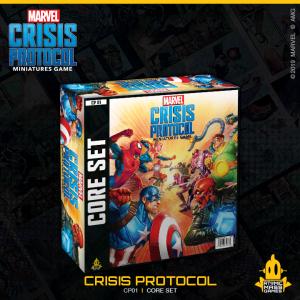 Atomic Mass Marvel Crisis Protocol  Marvel: Crisis Protocol Marvel Crisis Protocol: Core Set - CP01 - 841333108670