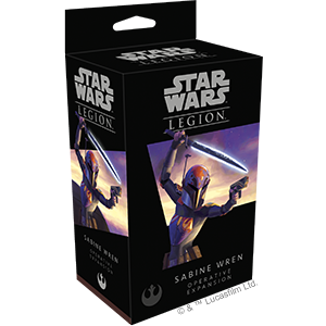 Fantasy Flight Games Star Wars: Legion  The Rebel Alliance - Legion Star Wars Legion: Sabine Wren Operative - FFGSWL37 - 841333107710