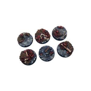Micro Art Studio   Triad Bases Triad Bases, Round 32mm (4) - B04720 - 5907652560034