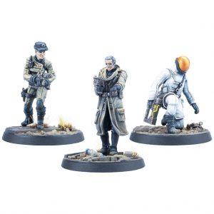 Modiphius Fallout: Wasteland Warfare  Fallout: Wasteland Warfare Fallout: Wasteland Warfare Enclave: High Command - MUH051998 - 5060523342709