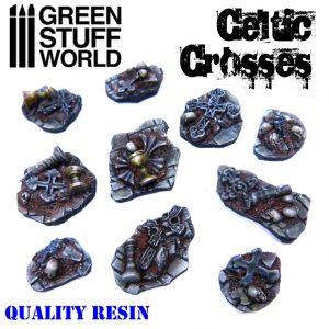 Green Stuff World   Basing Extras Celtic Crosses - 8436574500561ES - 8436574500561