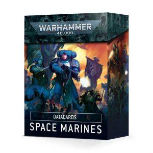 Games Workshop Warhammer 40,000  Space Marines Datacards: Space Marines - 60050101002 - 5011921134045