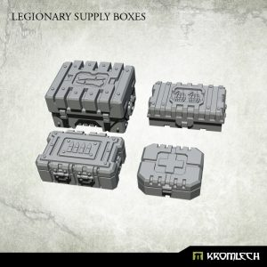 Kromlech   Kromlech Terrain Legionary Supply Boxes (4) - KRBK028 - 5902216117761