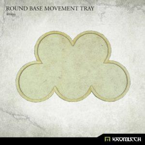 Kromlech   Movement Trays Round Base Movement Tray - 40mm (3) - KRHB037 - 5902216119604