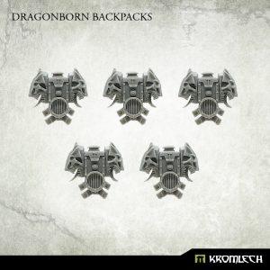 Kromlech   Legionary Conversion Parts Dragonborn Backpacks (5) - KRCB222 - 5902216117242